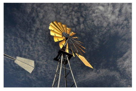 Windmills, New Mexico, Power, Air Energy