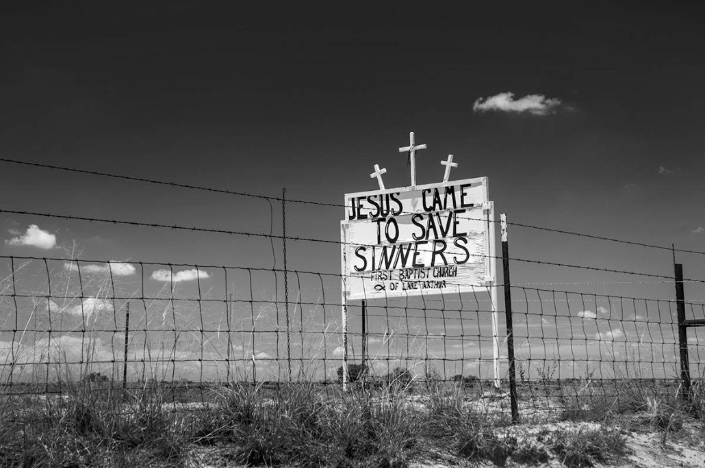 Russell Lee Road, New Mexico, Jesus, Religion, America, Church