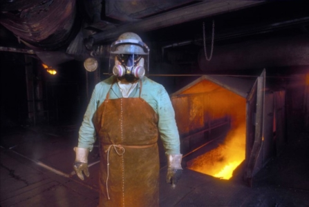 Industry, Copper, Working Man, Fire, Texas