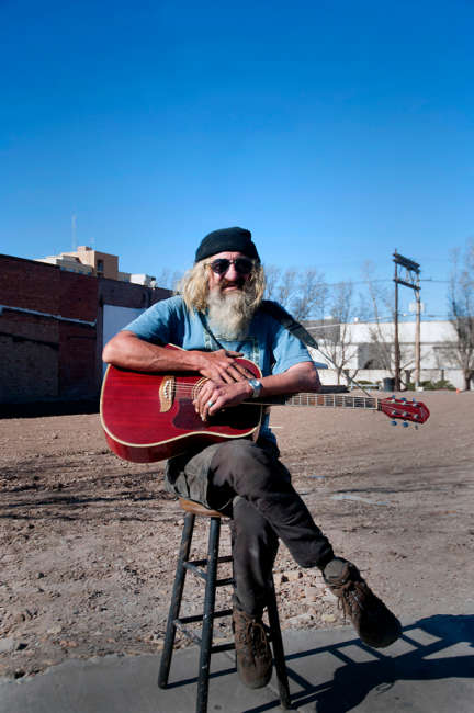 musician. street guy, New Mexico